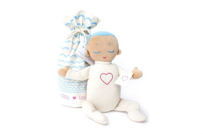 lulladoll magic doll for babies that plays heartbeats and sounds of breathing