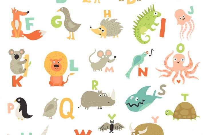 Alphabet game - letters with pictures