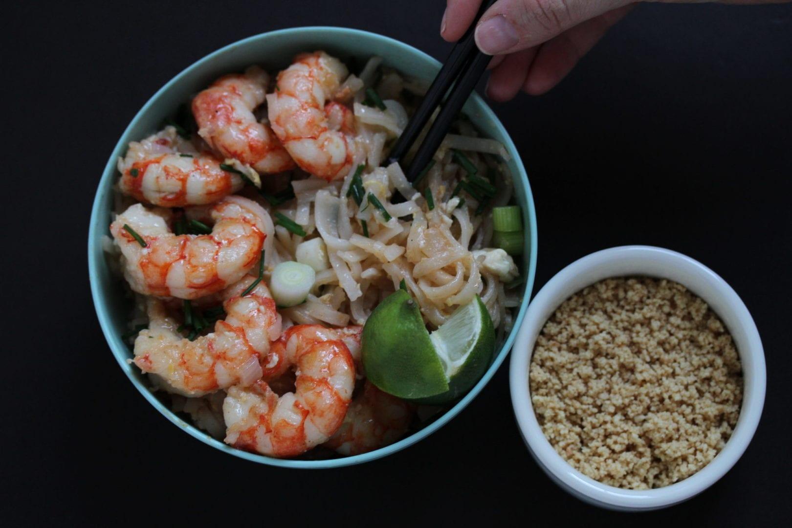 Easy Pad Thai - fun family dinner - feature 2