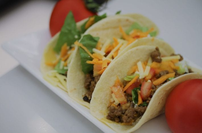 beef tacos - family dinners - healthy kids recipes