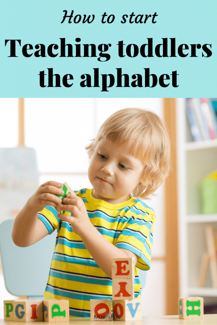 How to start teaching the alphabet to toddlers with first phonics - Alphabet activities for toddlers