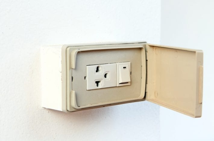 electrical socket cover - electrical socket safety babyproofing