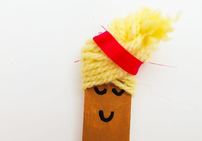 ffun kids craft bun case ballerinas step six add hairband