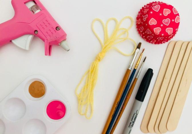 fun kids craft bun case ballerinas what you need