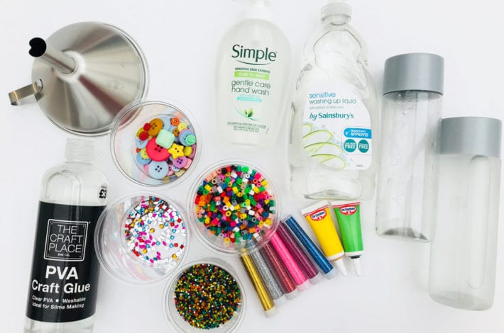 fun toddler craft sensory bottle what you need to make them all
