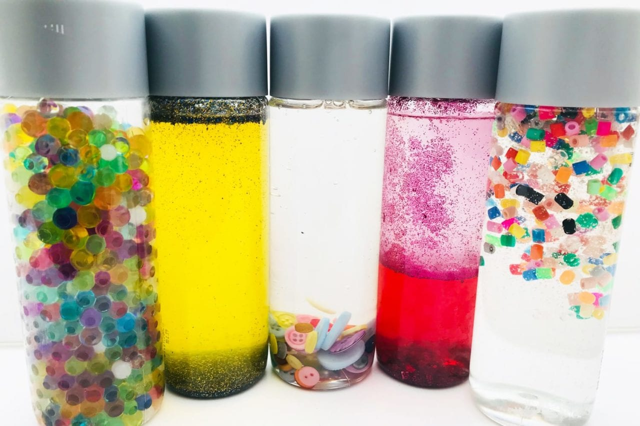 Beautiful Sensory Bottles