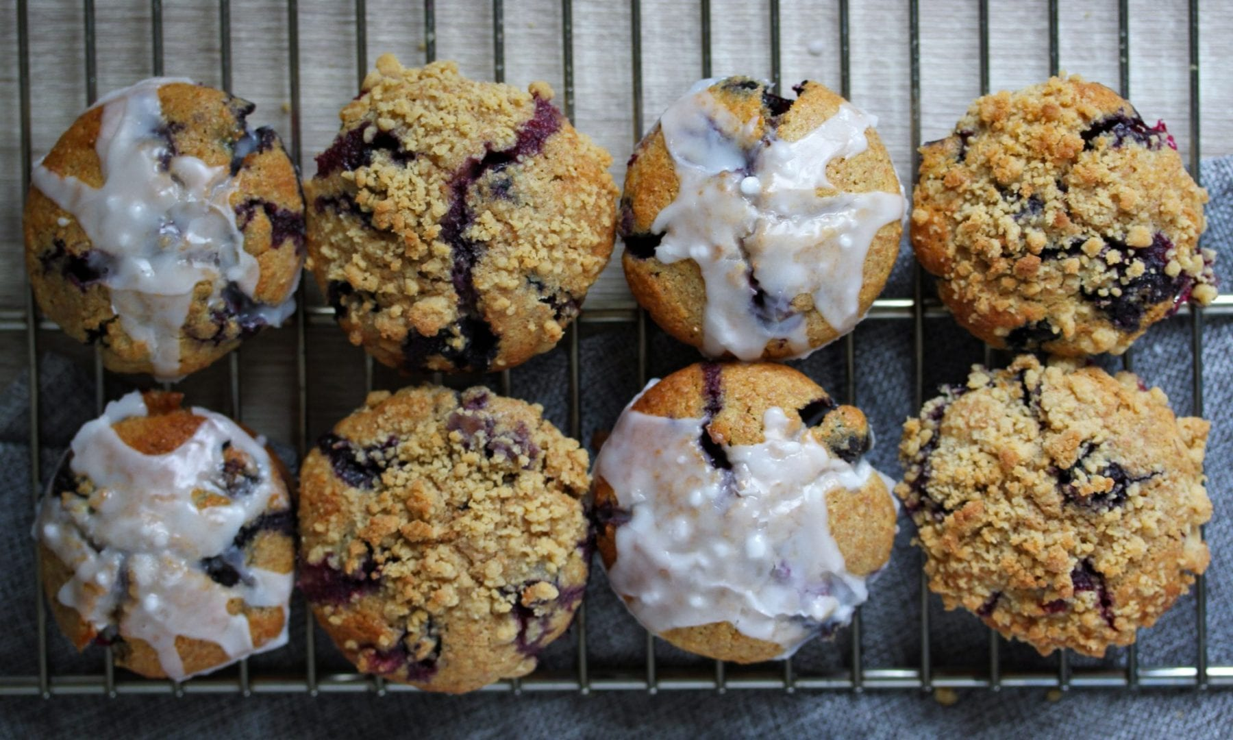 Blueberry muffins - wholewheat blueberry muffins - healthy blueberry muffins (2)