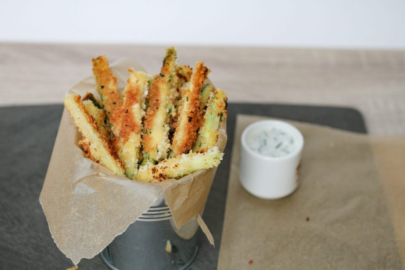 Courgette fries - healthy kids recipes