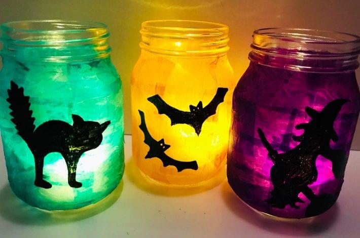 Halloween glowing lanterns - halloween craft (3)