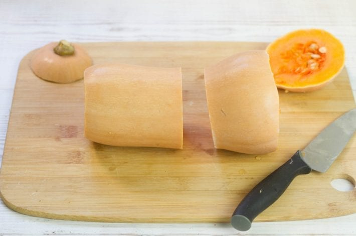 How to peel and cut a butternut squash - quick and hassle free method