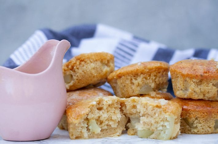 Pear muffins - healthy muffins (1)