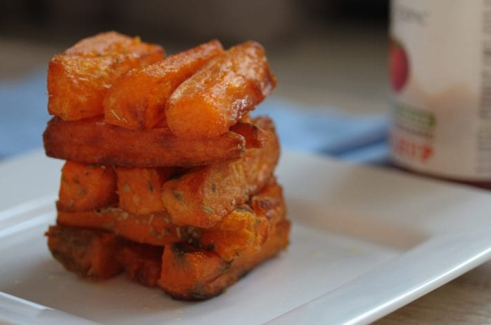 Sweet potato chunky chips - healthy chips for kids (10)