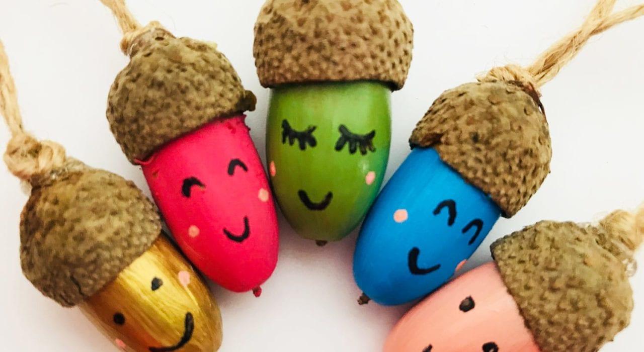 acorn craft - autumn craft - kids craft