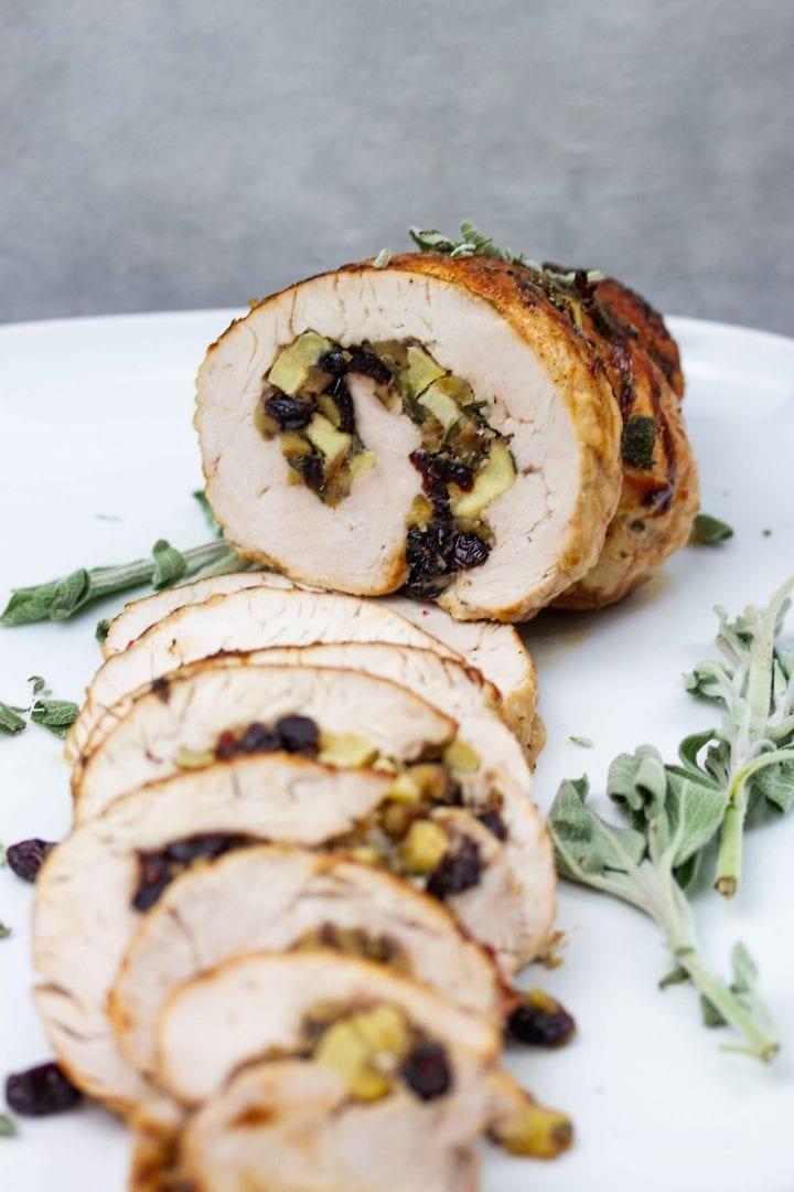 Turkey recipe - Cranberry stuffed turkey