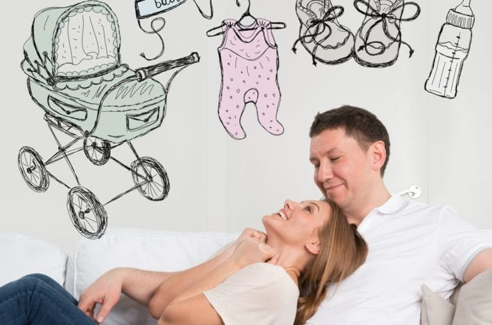 Newborn baby shopping list. baby arrives - preparing for baby - what to do before birth