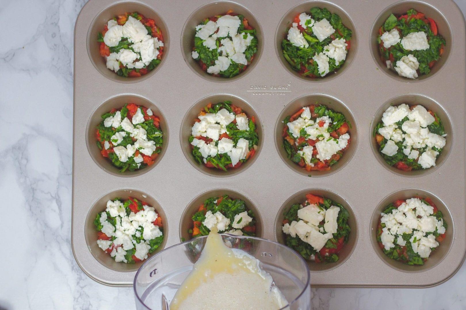 egg muffins - egg frittatas - healthy breakfast - healthy kids recipes