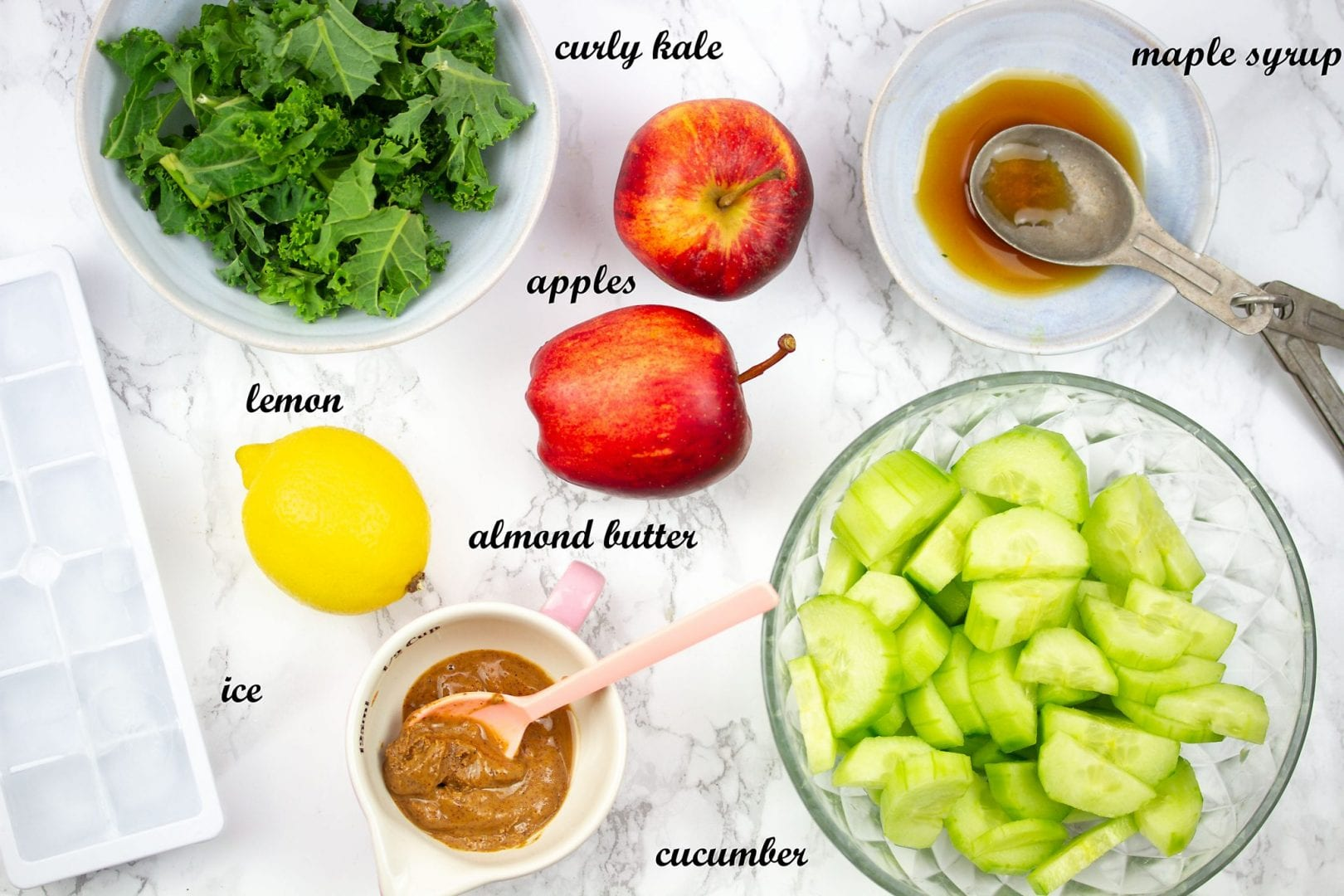 healthy smoothies, apple and kale smoothie, kids smoothies