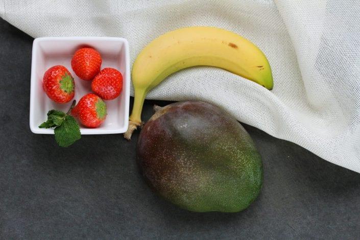 no cook puree - baby puree - banana puree