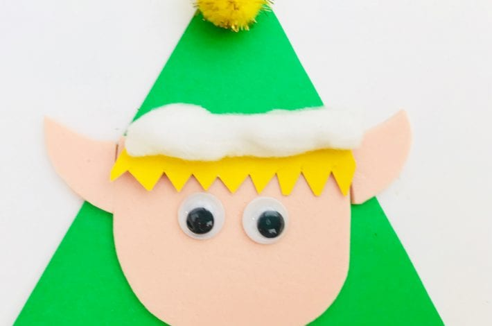 Christmas kids crafts - enjoy this festive craft by making these lolly stick puppets. A fun toddler activity