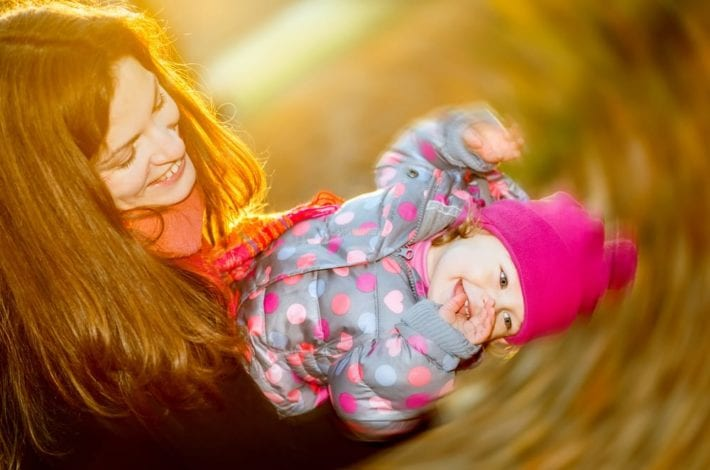 Live in the moment - how I try to live in the moment with my little one