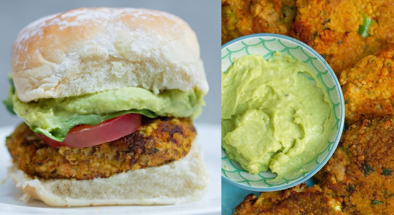 sweet potato patties - enjoy these sweet potato and chick pea patties as a veggie burger or as a weaning food