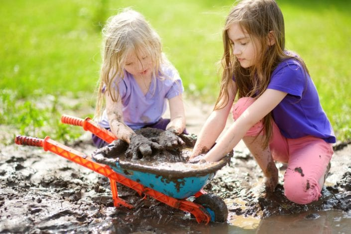 Dirt is good for kids - studies advise against immaculately clean homes