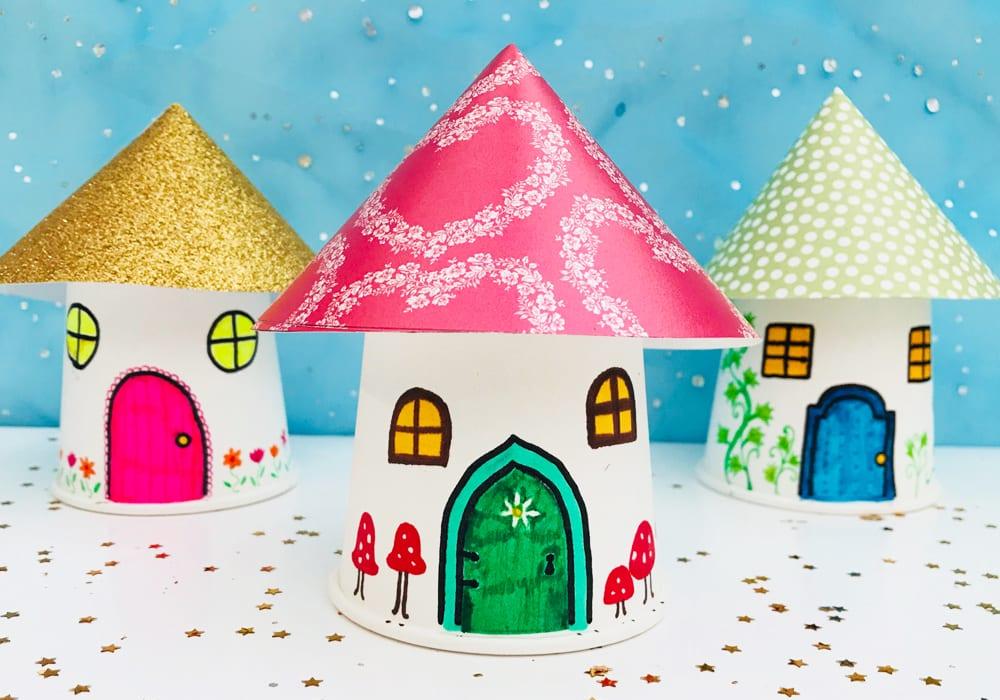 Magical Fairy House Kids Crafts Mas Pas