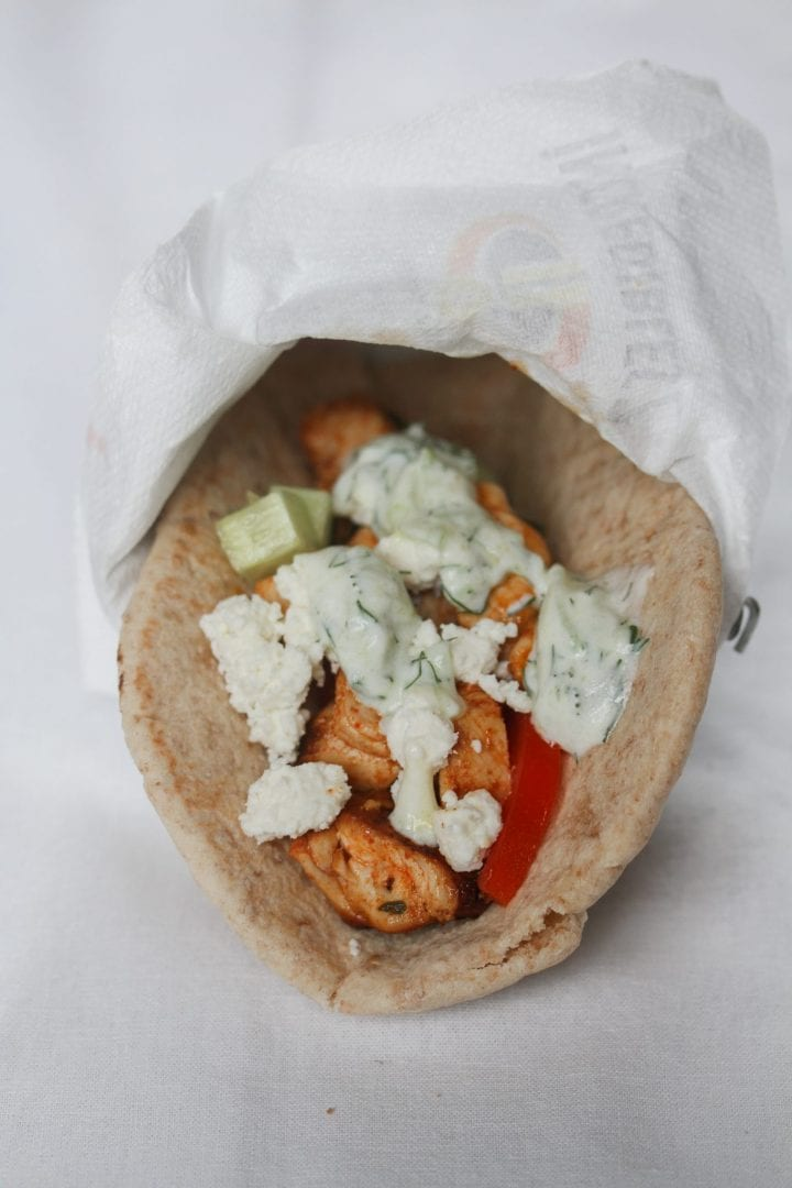 Greek souvlaki - enjoy the best chicken souvlaki ever with this delicious recipe