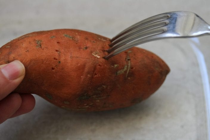Sweet potato skins - try these loaded sweet potato skins for a healthier sweet potato skin recipe
