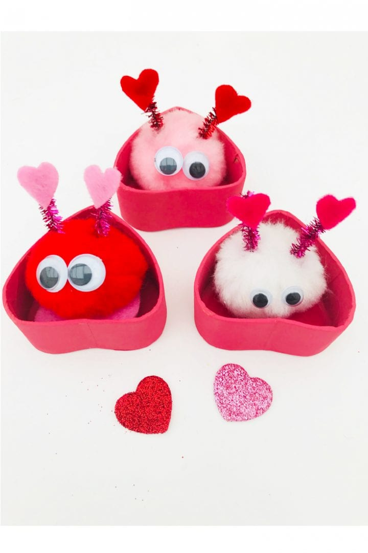 love bug craft - a fun and cute valentines craft for kids