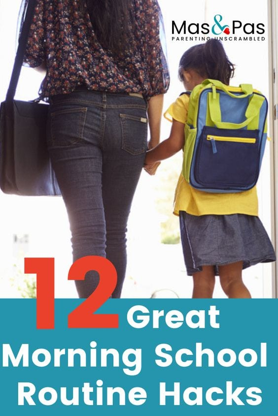 Try our 12 best school morning routine hacks to help kids get ready quicker, and to get you out the door on time. Make the school morning routine a breeze