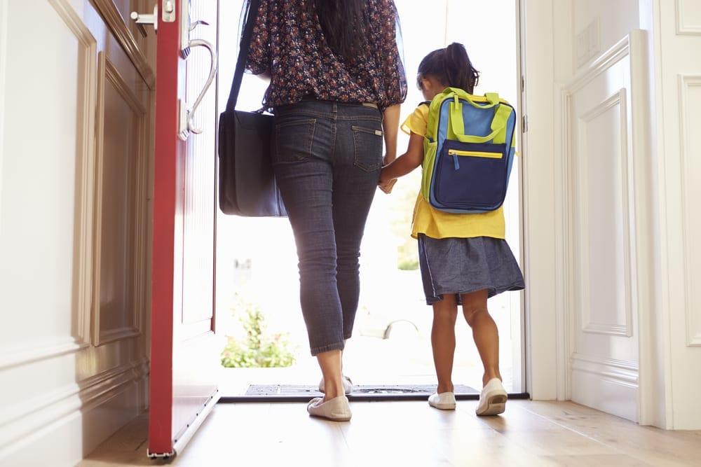 school routine - school morning hacks to help kids get ready sooner
