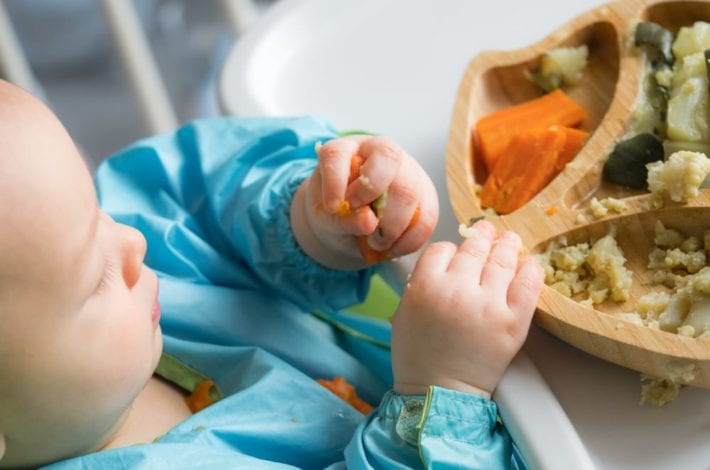 stages of weaning - the 3 stages of weaning explained - how to introduce those first foods to baby