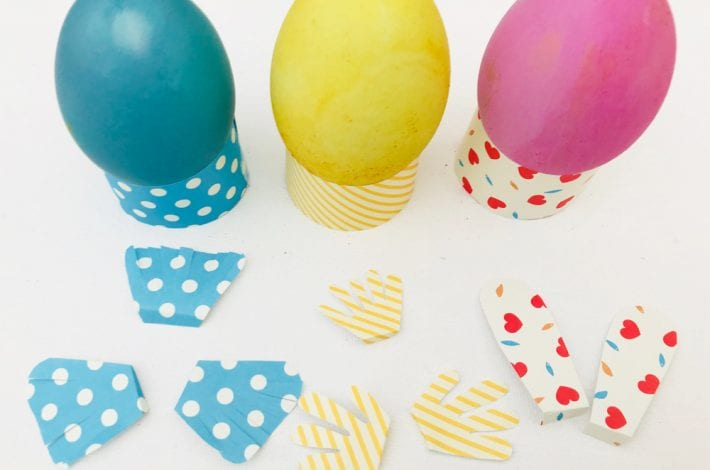 Easter egg bunnies and chicks craft - decorate your Easter eggs this year to look like little Easter animals