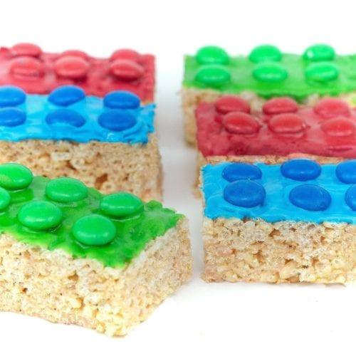 lego rice krispie treats - m&m rice krispie treats - make these lego block m&m rice krispie treats