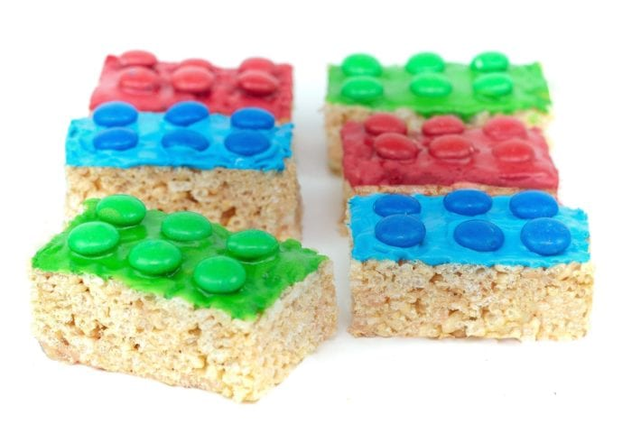 lego rice krispie treats - m&m rice krispie treats - make these lego block m&m rice krispie treats