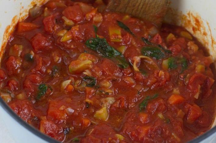 Hidden vegetable pasta sauce - ultimate vegetable sauce for kids pasta - get picky eaters to enjoy hidden veggies