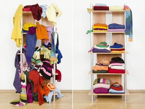 How to declutter your house in 1 day - tips for tidying up your home and having a big clear out