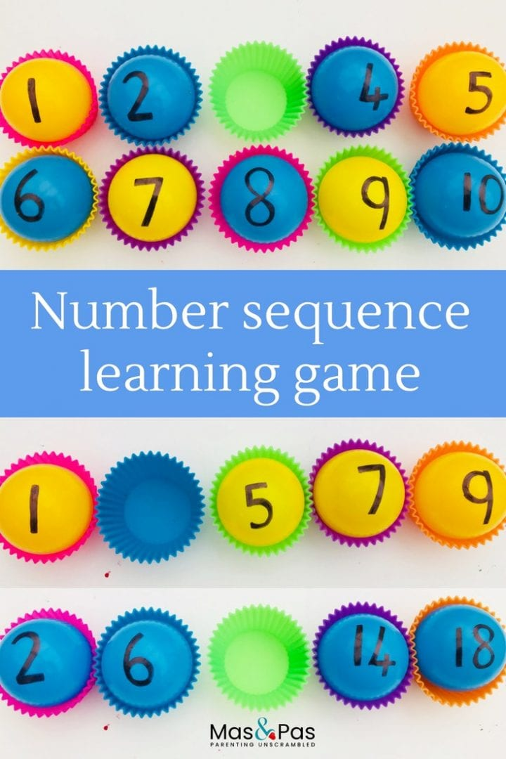 Play any one of these six math pattern games for kids and teach number sequences through fun games and activities
