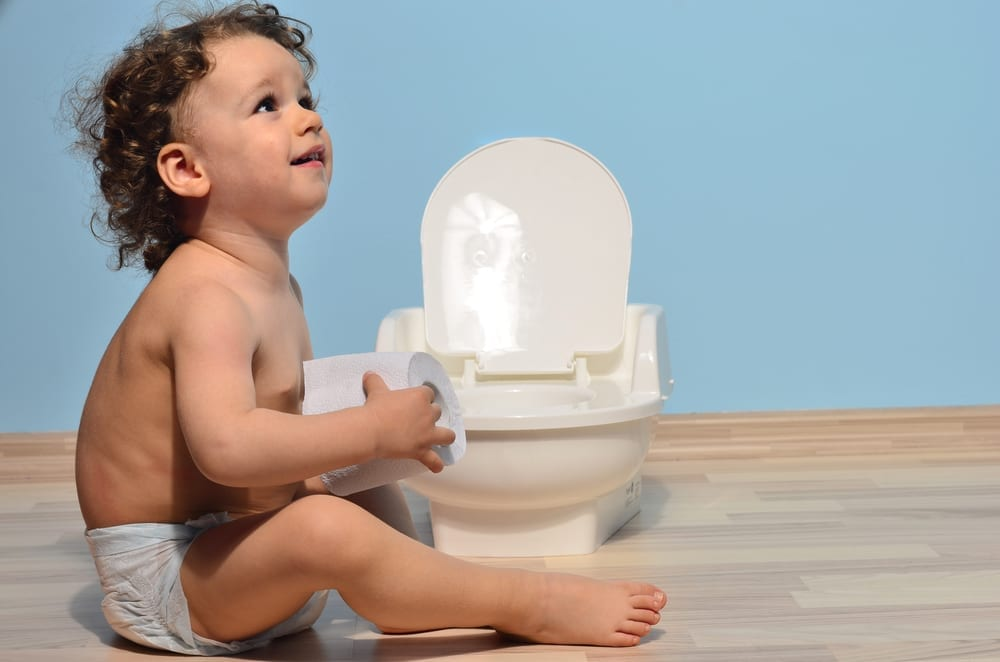 Is your toddler afraid to poop on the potty or loo - if so read on for 10 top tactics to help