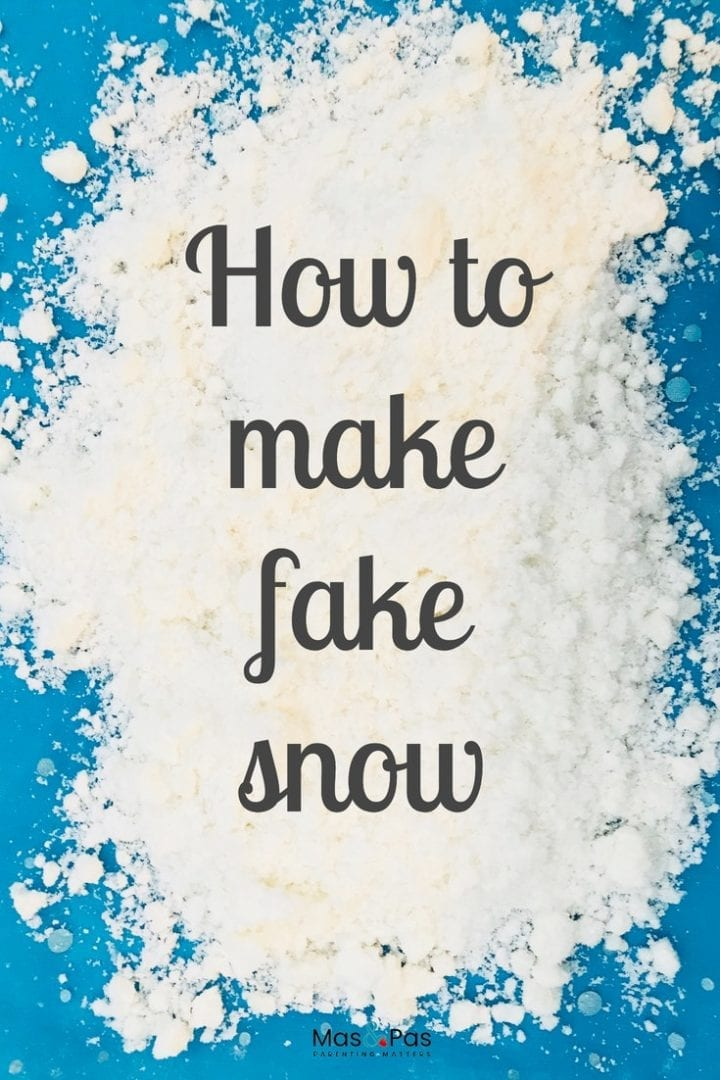 Find out how to make it snow indoors with these 2 simple diy snow recipes for fake snow - a fun kids winter craft