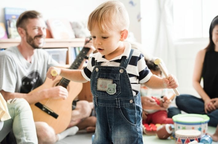 Top music classes for babies and toddlers in north london