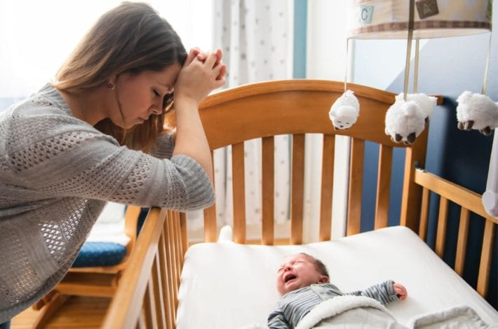how to cope with sleep deprivation as a new parent