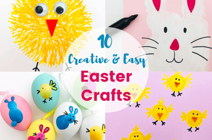 10 Creative and Easy Easter Crafts