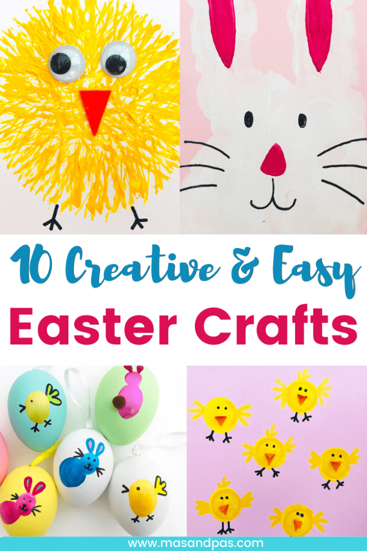 Top 10 Creative Easter Crafts - easy Easter crafts for kids and preschoolers