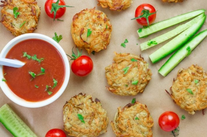 Veggie bites for toddlers - healthy vegetable bites or veggie burgers and patties that toddlers and kids can enjoy as healthy finger food