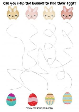 Easter activity pack - great Easter printable activities in this 8 page easter booklet