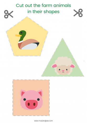 It's just a graphic of Free Printable Farm Animals intended for real