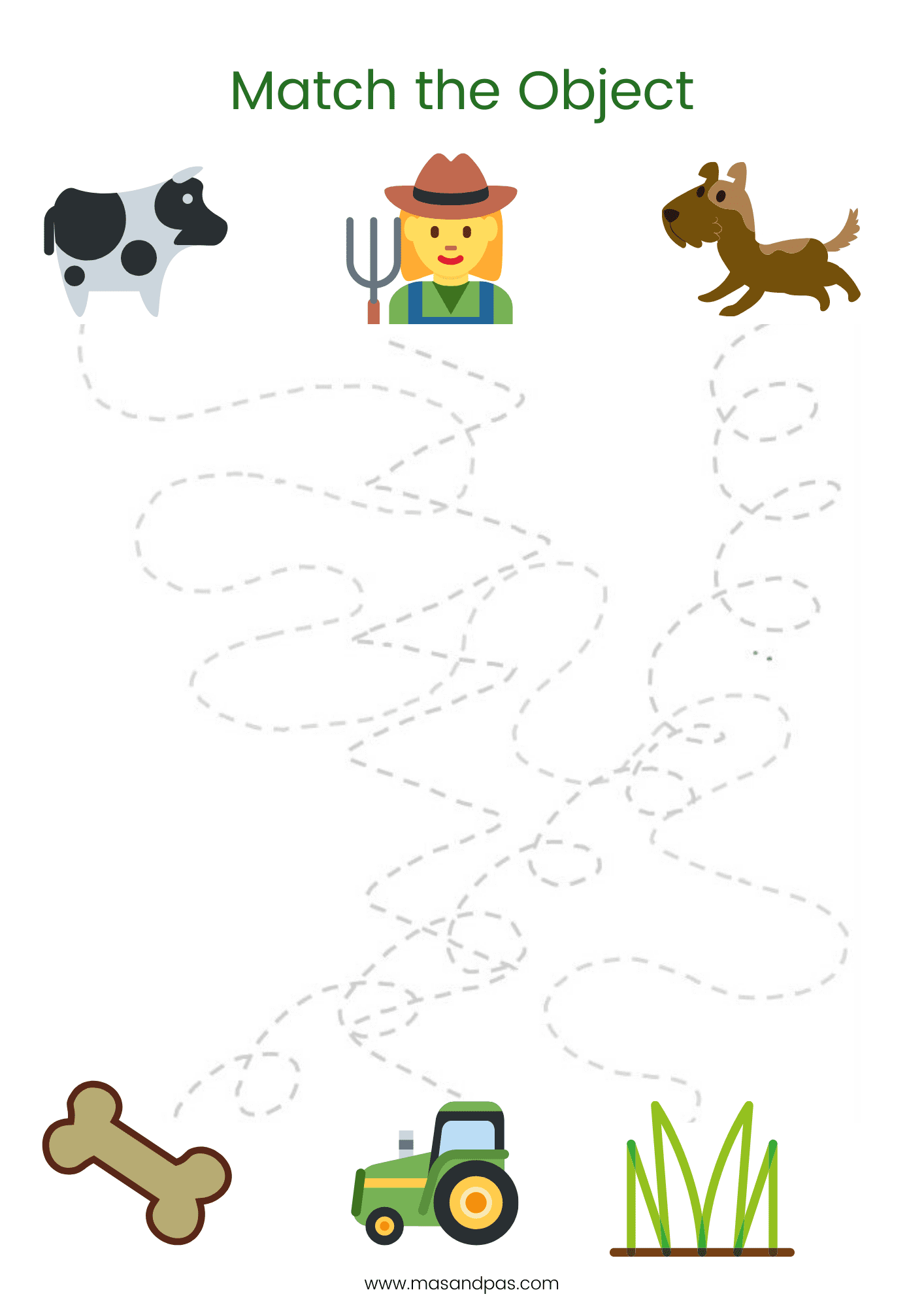 It is an image of Free Printable Farm Animals inside fine motor