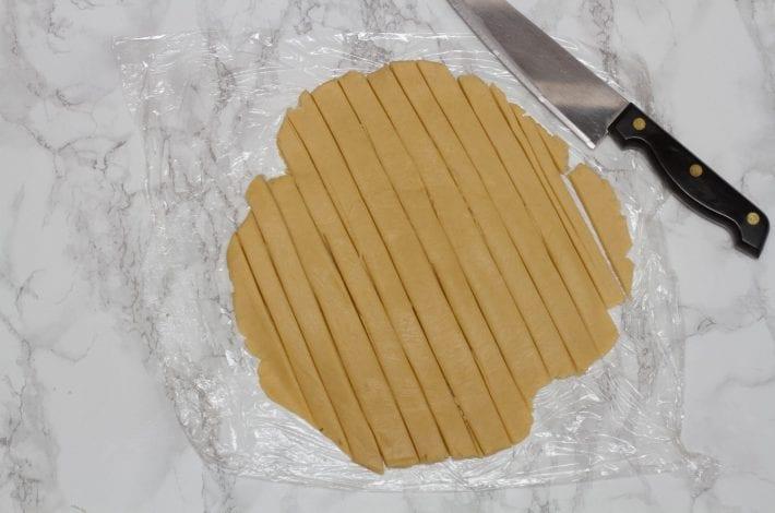 Pasta flora easy jam tart squares - easy kids baking recipe pasta fiorla